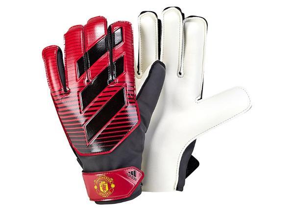 Lasten maalivahdin hanskat adidas Young Pro Manchester United Junior CW5622