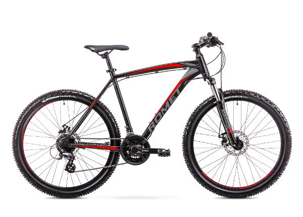 Meeste mägijalgratas 20 XL Rower ROMET RAMBLER R6.3 must-punane