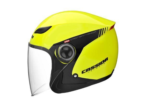 Moottoripyöräkypärä Cassida Reflex Safety