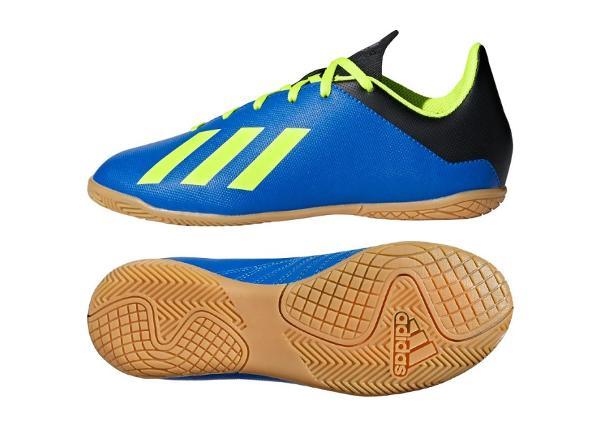 Lasten jalkapallokengät adidas X Tango 18.4 IN Jr DB2431