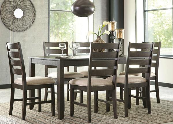 Söögilaud + 6 tooli