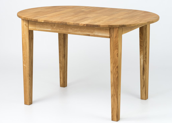 Jatkettava ruokapöytä tammi Henry 90x140-180 cm