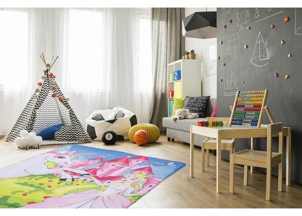Lastenhuoneen matto Fairy Tale 100x150 cm RT-174903
