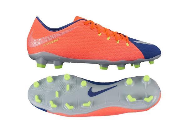 Miesten jalkapallokengät Nike Hypervenom Phelon III FG M 852556-409