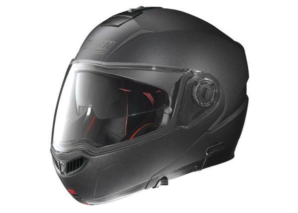 Moottoripyöräkypärä N104 Absolute Special NCom Black Graphite Nolan