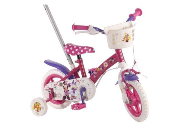 Tüdrukute jalgratas Disney Minnie Mouse Bow-Tique 10 tolli Volare