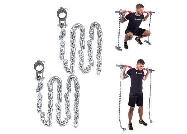 Tõstekettide komplekt Chainbos 2x10kg inSPORTline