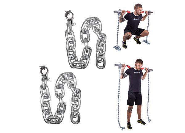 Tõstekettide komplekt Chainbos 2x25kg inSPORTline