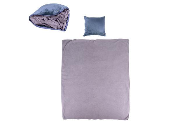 Массажная подушка с пледом Trawel inSPORTline