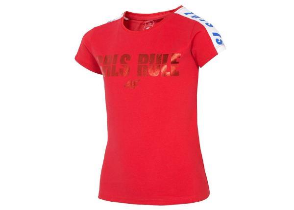 Naisten vapaa-ajan paita 4F J4L19-JTSD203A