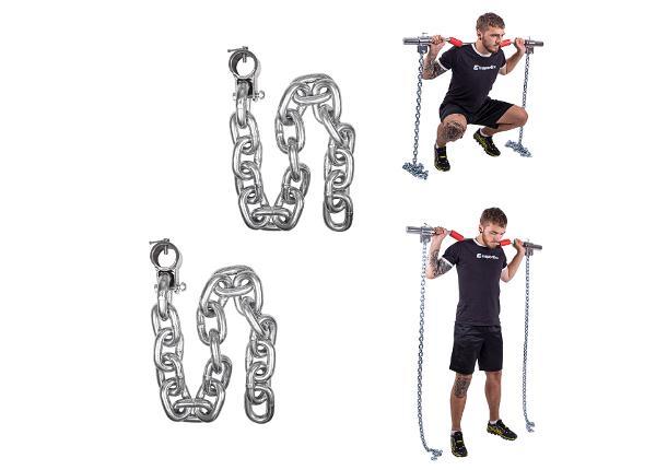 Tõstekettide komplekt Chainbos 2x30kg inSPORTline