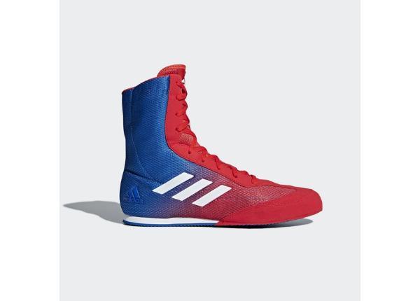 Meeste poksi jalatsid adidas Box Hog Plus sinine-punane