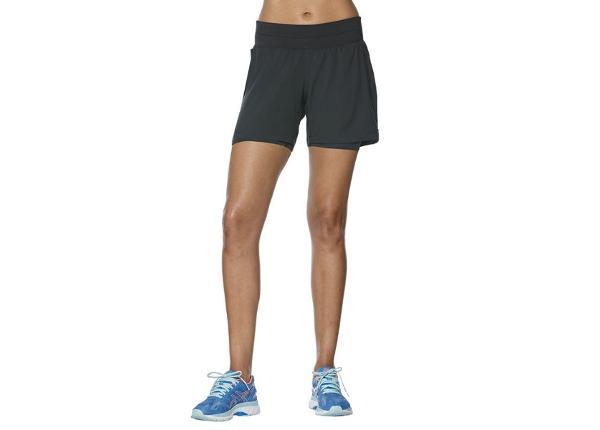 Naiste lühikesed jooksupüksid Asics 2w1 5.5 IN Short W 141228-0904