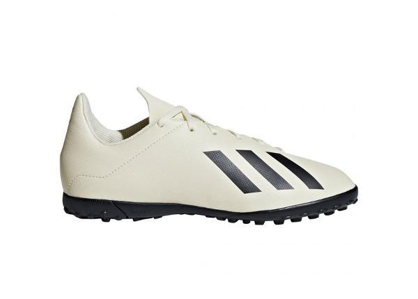 Laste kunstmuru jalgpallijalatsid adidas X Tango 18.4 TF Jr DB2436