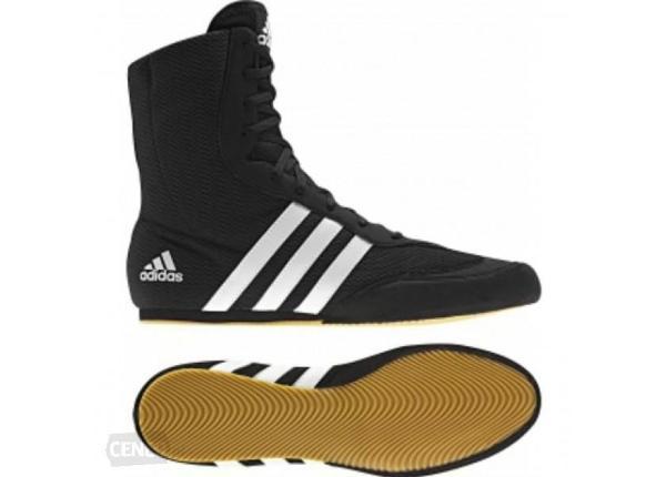 Lasten ja aikuisten nyrkkeilykengät adidas Box Hog II ruskeat
