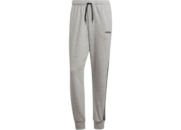 Miesten verryttelyhousut adidas Essentials 3 Stripes Tapered Pant FT Cuffed M DQ3077
