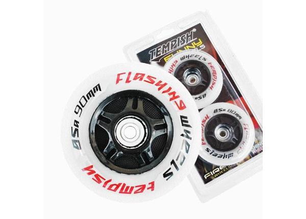 Rulluisu rataste komplekt FLASHING 90x24 85A Tempish