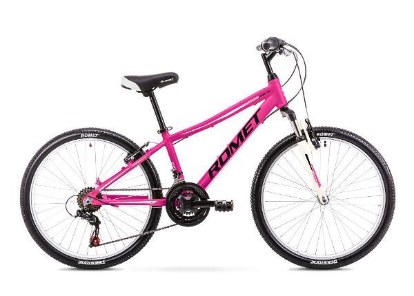 Tüdrukute jalgratas 13 S Rower ROMET JOLENE 24 roosa