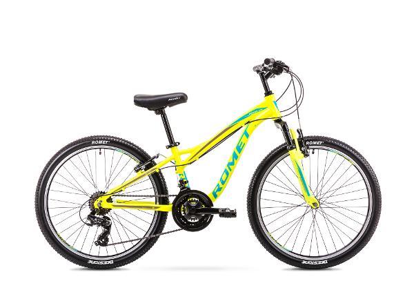 Poiste jalgratas 12 S Rower ROMET RAMBLER FIT 24 kollane