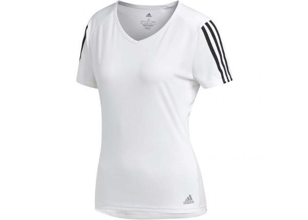 Naiste treeningsärk Adidas Run 3S Tee W