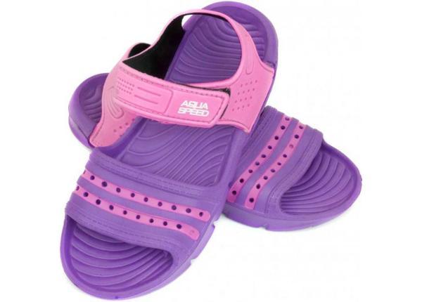 Laste sandaalid Aqua-speed Noli lilla/roosa