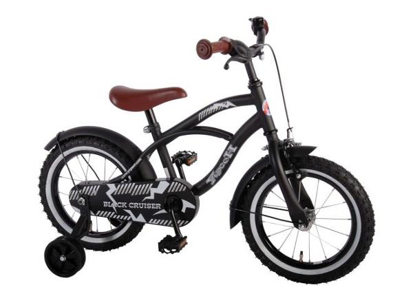 Велосипед для мальчиков Yipeeh чёрный Cruiser 14 дюймов Volare