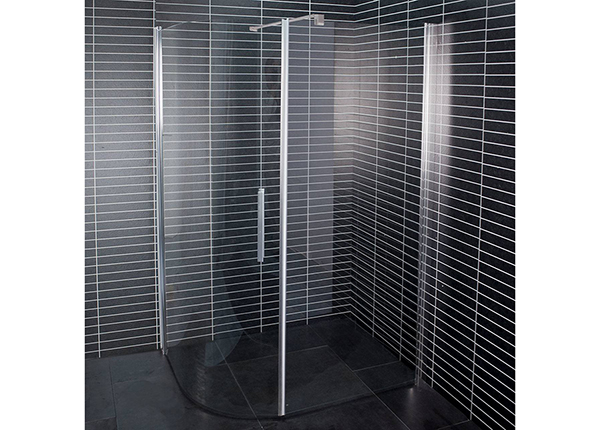 Душевая кабина Duschy Free+Wall 80x100 см