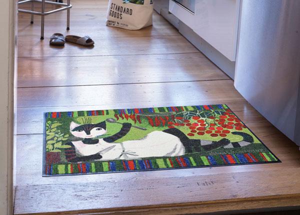 Matto Pomodori e basilico 50x75 cm A5-180005
