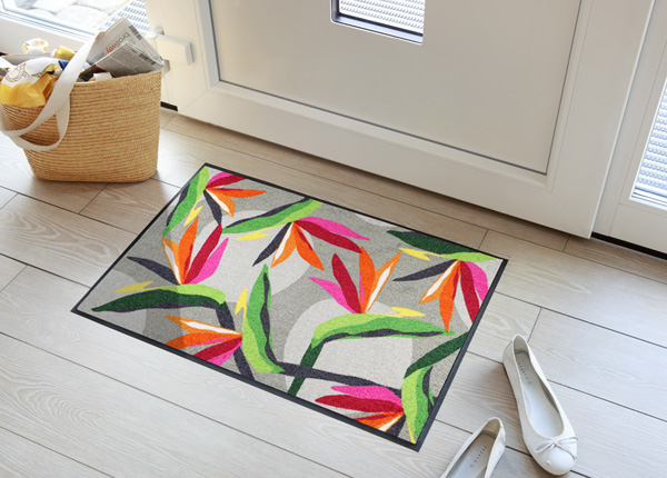 Uksematt Bloom Parrot Flower 50x75 cm