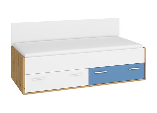 LipastSänky vuodevaatelaatikolla 90x200 cm