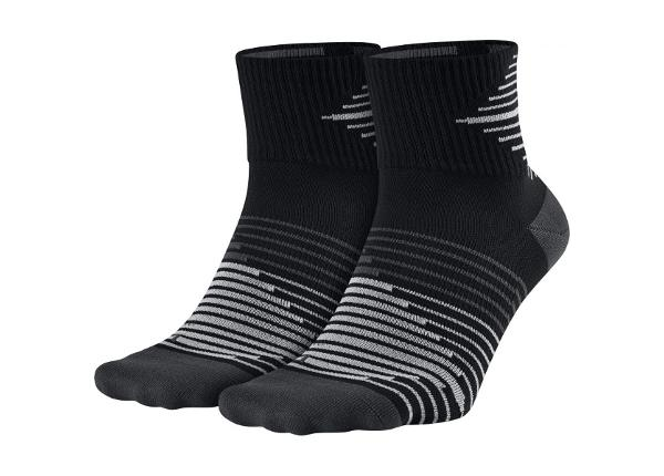 Urheilusukat Nike Performance Lightweight Quarter Sock 2pak SX5198-010