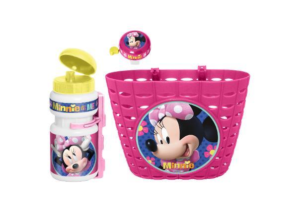 Laste jalgratta komplekt Minnie Mouse