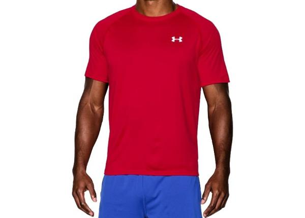 Miesten treenipaita Under Armour Tech Shortsleeve New M 1228539-600