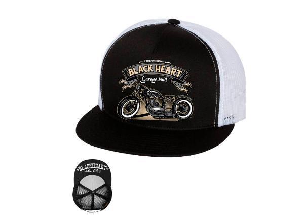 Nokamüts universaalne BLACK HEART Jawa 350 Trucker