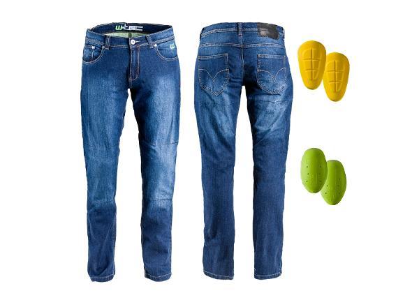 Мужские мотоциклетные джинсы W-TEC