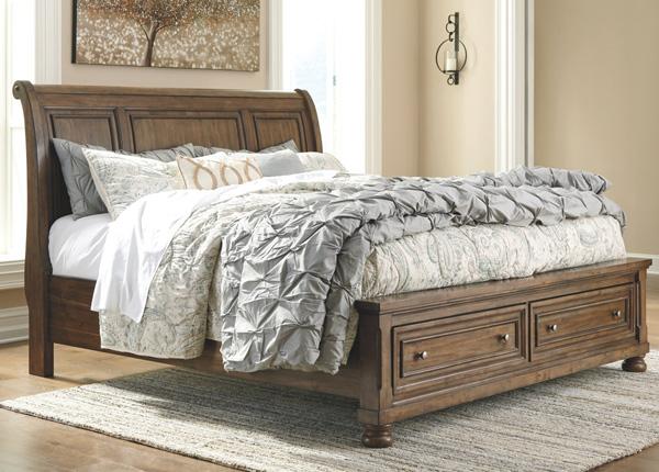 Sänky vuodevaatelaatikolla 155x200 cm