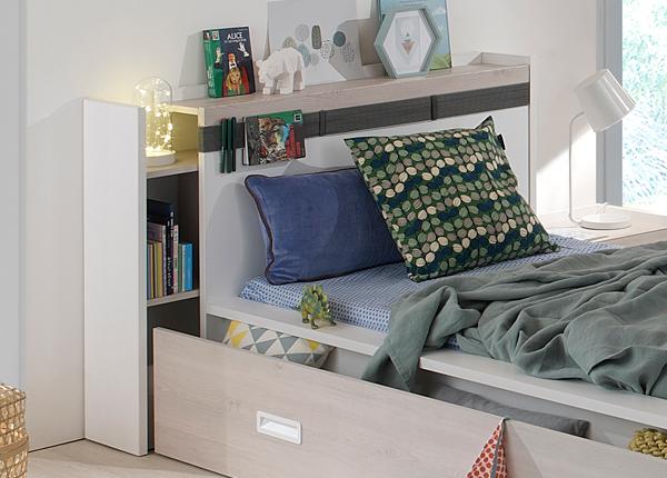 Sängyn päätyhylly Eden Tiago