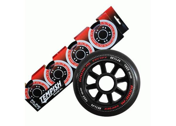Rulluisu rataste komplekt Radical 90x24 85A Tempish