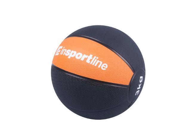 Медицинский набивной мяч MB63 - 3 кг inSPORTline