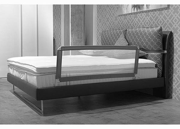 Бортик в кроватку темно-серый 135x50 см