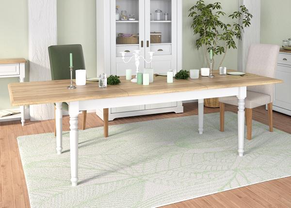 Jatkettava ruokapöytä Cottage 180-260x100 cm MA-182295