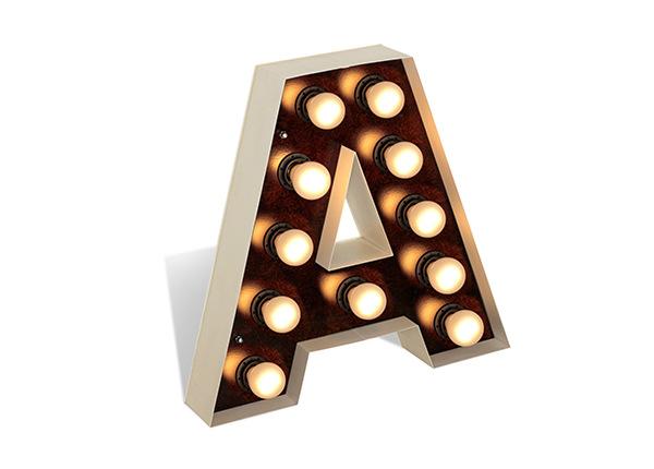 Põrandalamp Letter A AA-182406
