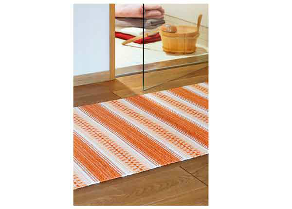 Narma plastikvaip Runö orange 70x100 cm