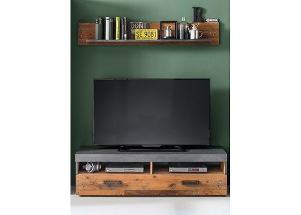 TV-taso + seinähylly Indy
