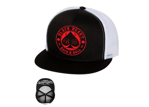 Nokamüts täiskasvanutele BLACK HEART Ace Of Spades Trucker