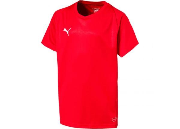 542eeedeb49 Laste jalgpallisärk Puma Liga Jersey Core JR 703542 01 ...
