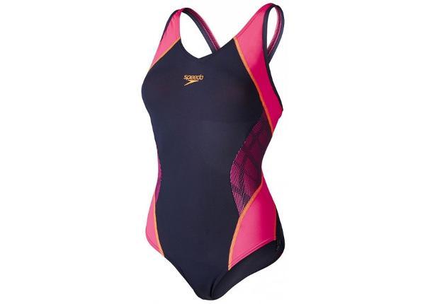 Naiste ujumistrikoo Speedo Fit Splice Muscleback AF W 8-10379A610