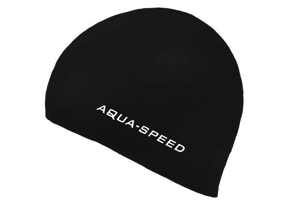 Täiskasvanute Ujumismüts Aqua-Speed Silikoon 3D Cap