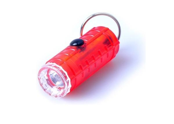 Taskulamp võtmehoidja rõngaga 4-MODE MINI