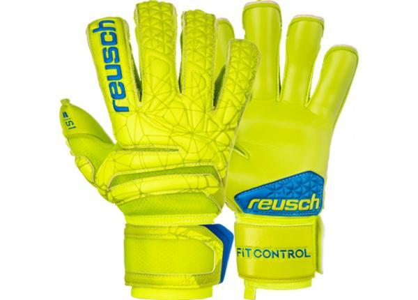 Väravavahi kindad täiskasvanutele Reusch Fit Control S1 Evolution Finger Support 3970238-583